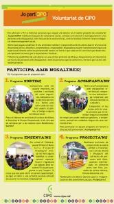 Programes de voluntariat de CIPO